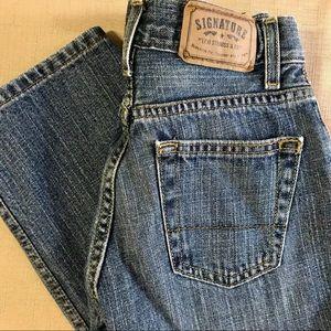 Boys Signature Levi's Straight Leg Denim Jeans